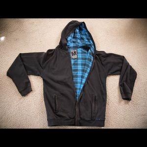 Matix Mike Mo Zip Up Hooded Sweatshirt